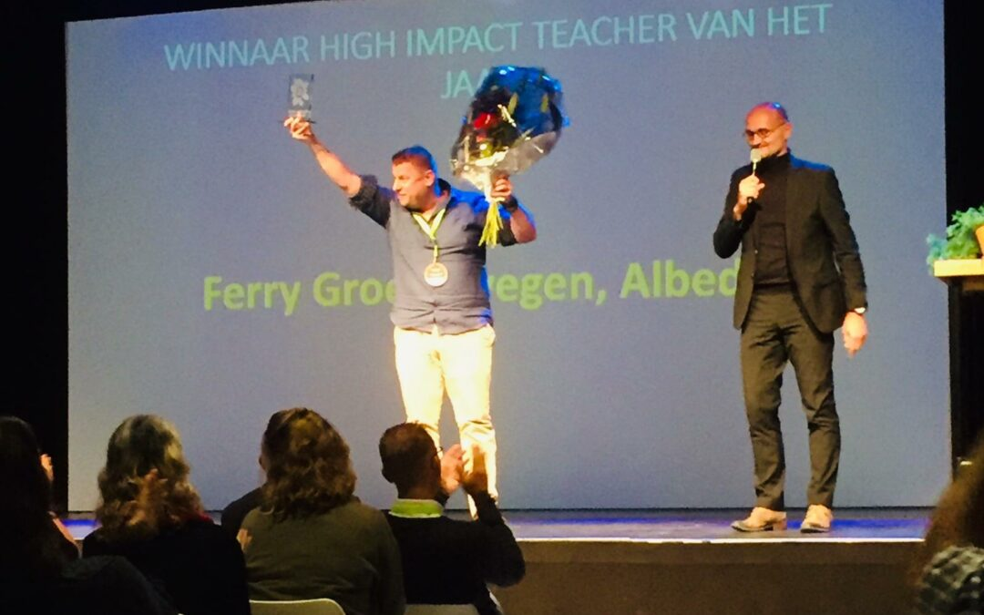 Ferry Groenewegen High Impact Teacher 2018